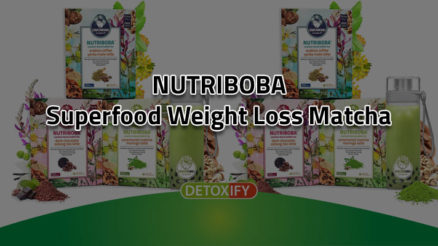NUTRIBOBA Superfood Weight Loss Matcha