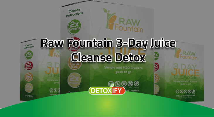 3-day juice cleanse detox